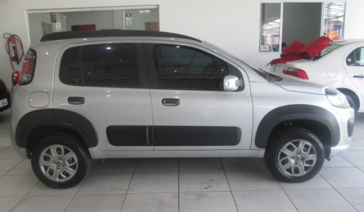 Lateral do carro