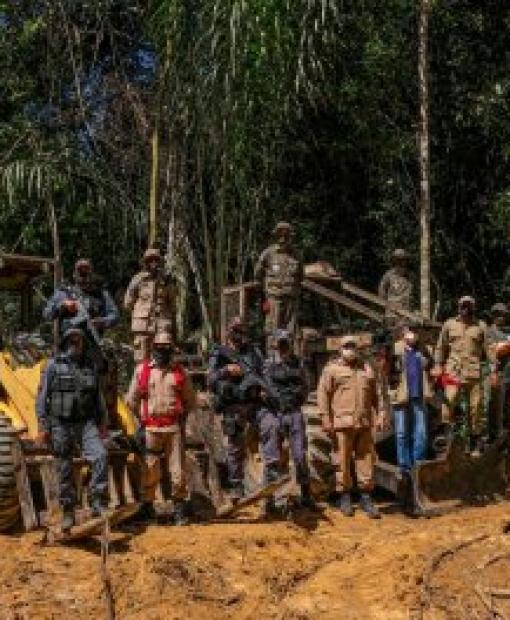 Estado apreende máquinas de desmatadores em Juína e região