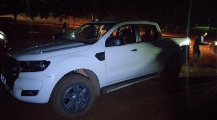 #Motorista pula de caminhonete em movimento durante roubo em MT