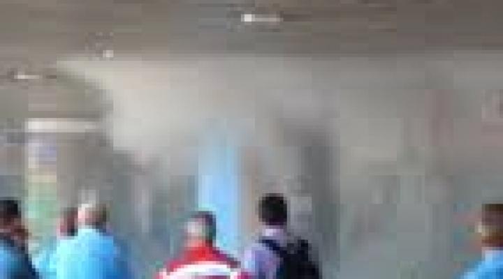 #Bituca de cigarro causa incêndio na rodoviária de Cuiabá