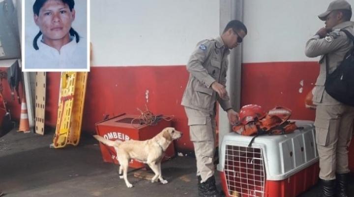 #Bombeiros procuram por índio desaparecido há uma semana; suspeita de ataque animal
