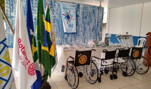 Rotary completa mais de cem anos de trabalhos sociais, em Juína clube tem ações expressivas