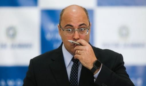 Ministro do STJ aponta 'indícios de participação' de Witzel nas fraudes