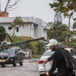 Sobe para 10 o número de mortos após ciclone bomba na região sul