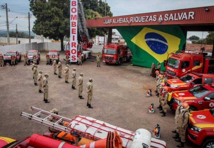 MT inicia fase ostensiva de enfrentamento a incêndios florestais