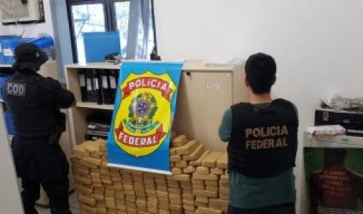 PF apreende 327 quilos de cocaína na divisa de MT e Goiás