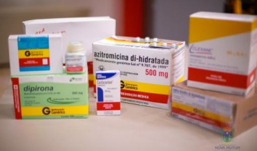 "Estado distribuirá ""kit Covid"" aos municípios na próxima semana"