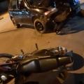 PM registra acidente entre carro e moto em Juína