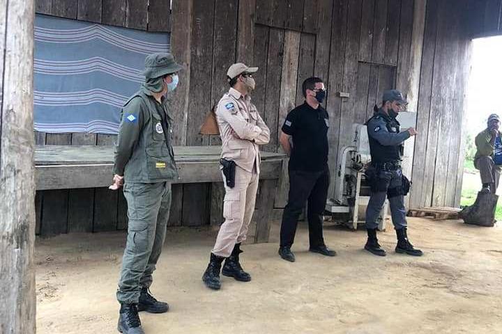 Forças de Segurança realizam mais uma operação integrada da região noroeste do Estado