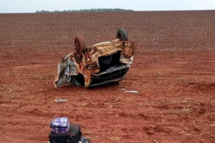 Passageiro que viajava com a família para tratamento de saúde morre em acidente em MT