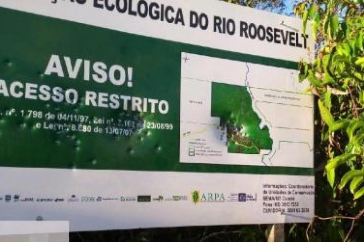 Fiscalização de combate ao desmatamento é recebida à bala em Estação Ecológica