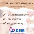 CEM traz Otorrinolaringologista para atender em Juína