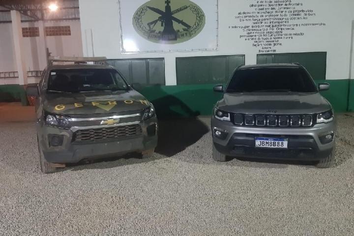 Dois policiais militares de MT são presos com carro roubado do RJ