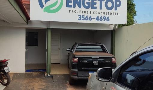Engetop se destaca em serviços em Juína, entre eles, georreferenciamento