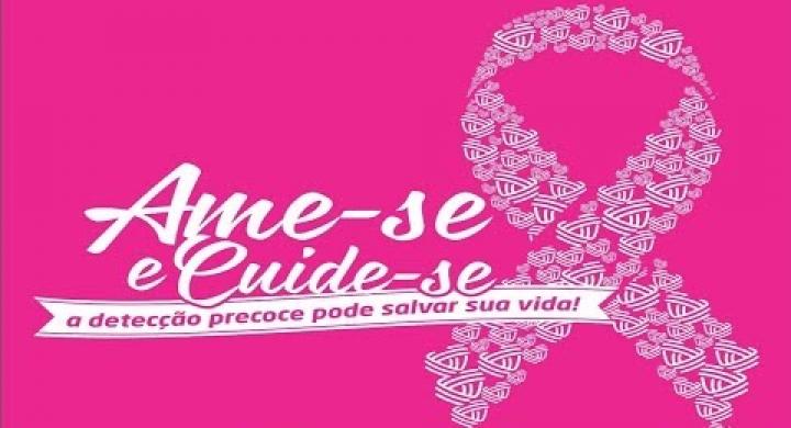 #Outubro Rosa Ame-Se Cuide -Se