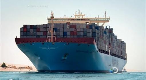 #O Maior Navio do Mundo -  Super Navio Gigante - Titânico