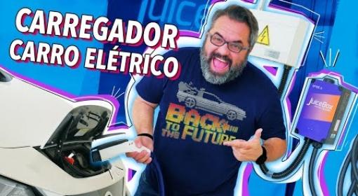 COMO É CARREGAR UM CARRO ELÉTRICO EM CASA